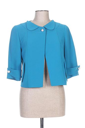 Veste chic / Blazer bleu CARA LOTTI pour femme