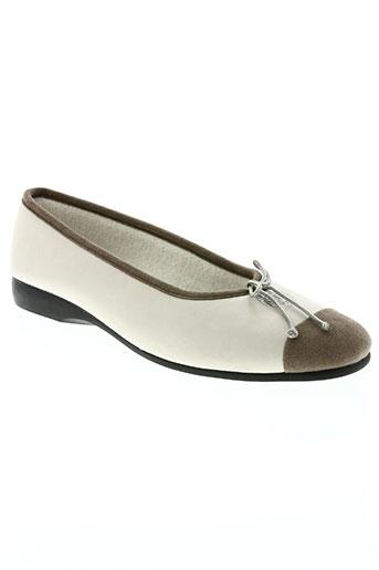 exquise chaussures femme de couleur beige