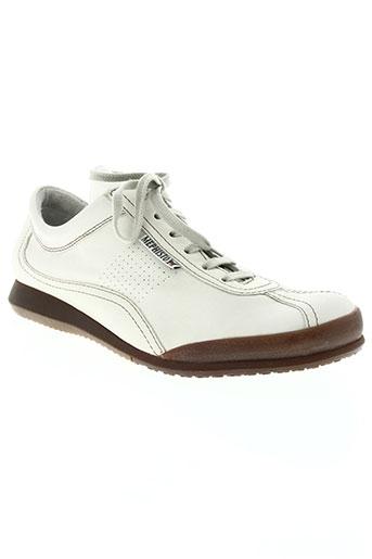 mephisto chaussures homme de couleur blanc
