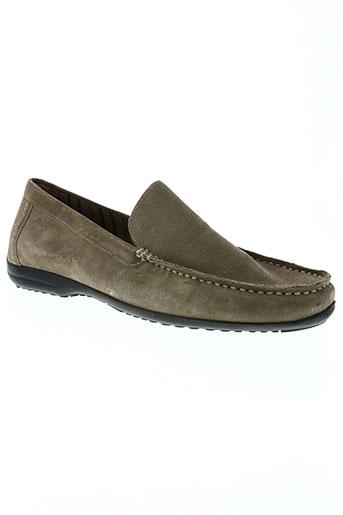 sioux chaussures homme de couleur beige
