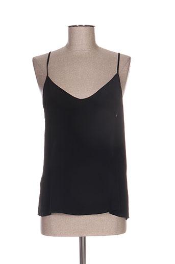 axara chemises femme de couleur noir