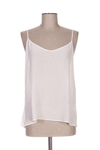 axara chemises femme de couleur blanc