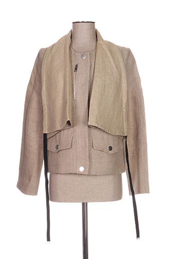 Veste chic / Blazer beige CASTELBAJAC pour femme