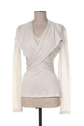 jean paul gaultier chemises femme de couleur gris