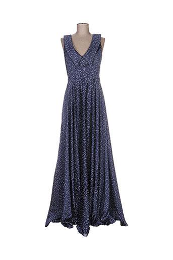 isabel garcia robes femme de couleur bleu
