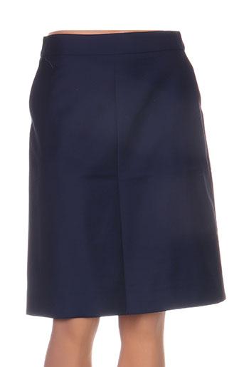 Jupe mi-longue bleu CASTELBAJAC pour femme