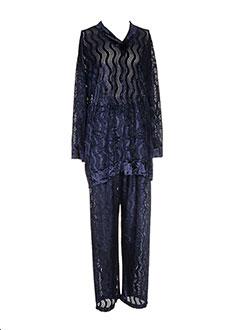 Pyjama bleu YIANNIS ZIROS pour femme