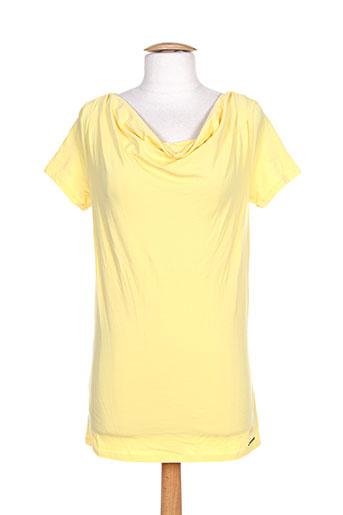 mc gregor chemises femme de couleur jaune