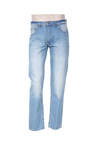 max adelar jeans homme de couleur bleu