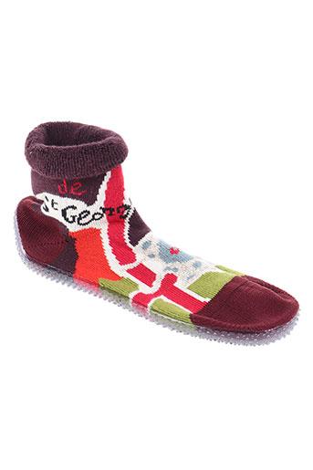 berthe aux grands pieds chaussures garçon de couleur vert