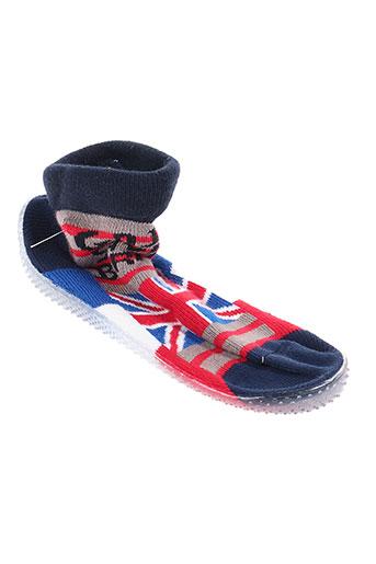 berthe aux grands pieds chaussures garçon de couleur bleu