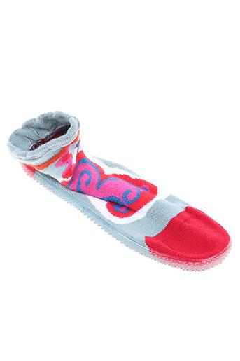 berthe aux grands pieds chaussures fille de couleur gris