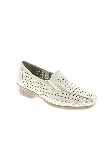 raquel perez chaussures femme de couleur beige