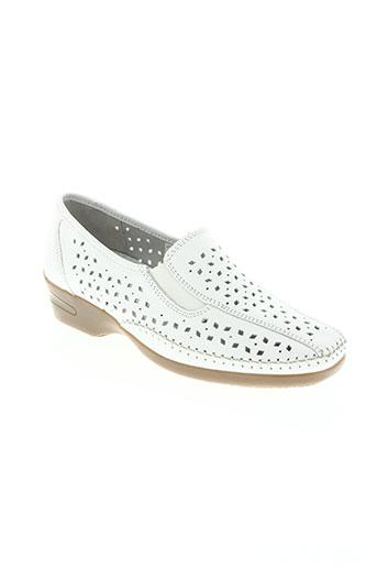 raquel perez chaussures femme de couleur blanc