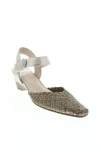 sweet chaussures femme de couleur beige