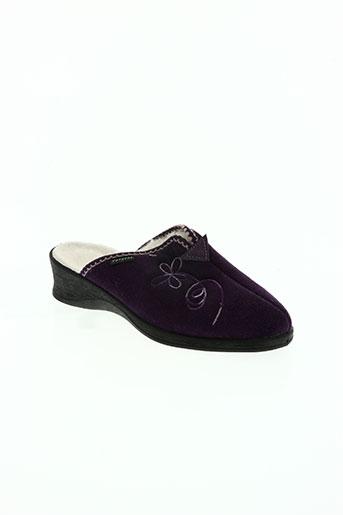 fargeot chaussures femme de couleur violet