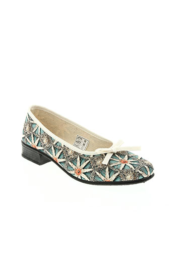 made in france chaussures femme de couleur bleu