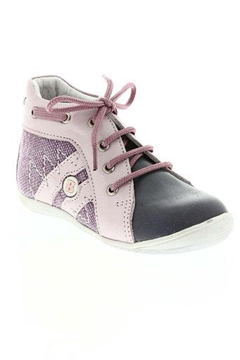 bellamy chaussures fille de couleur violet