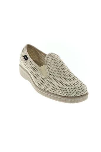 la vague chaussures homme de couleur beige