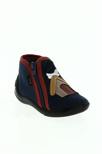 bopy chaussures garçon de couleur bleu