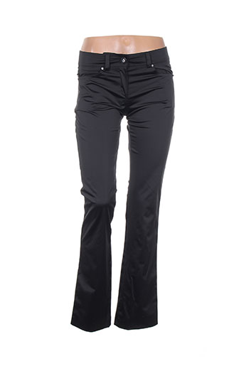 miss tic pantalons femme de couleur noir