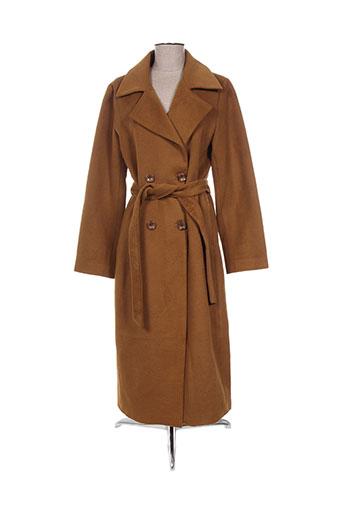 madison manteaux femme de couleur marron