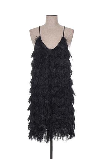 daphnea robes femme de couleur noir