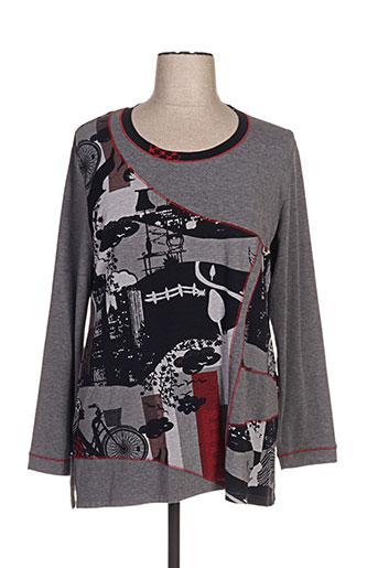 jean gabriel tuniques femme de couleur gris