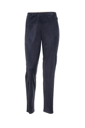 adelina by scheiter pantalons femme de couleur bleu