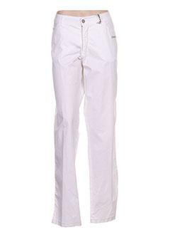 Pantalon casual blanc AQUAJEANS pour femme