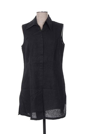 gläser tuniques femme de couleur noir