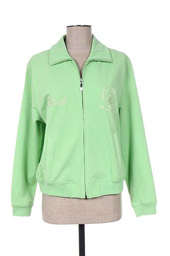 basler vestes femme de couleur vert