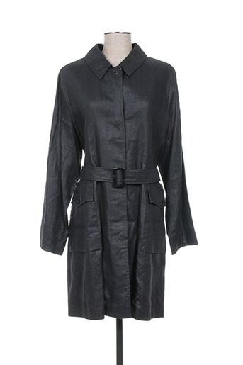 creenstone manteaux femme de couleur noir