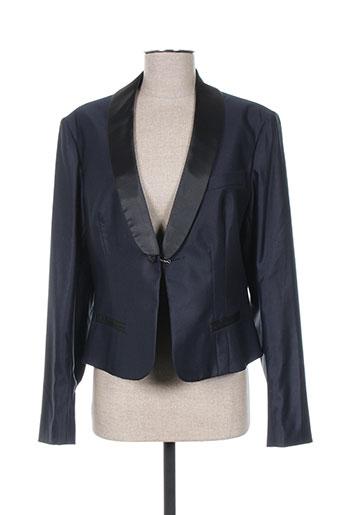 Veste chic / Blazer bleu INFINITY pour femme