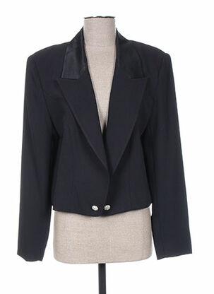 Veste chic / Blazer noir ASABLE pour femme
