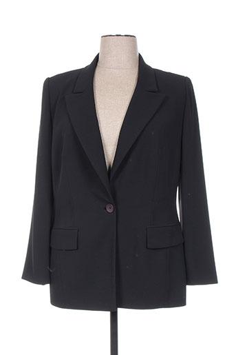 Veste casual noir FRANK USHER pour femme
