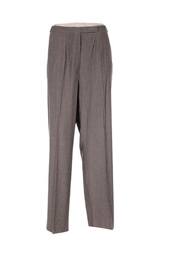 ara pantalons femme de couleur gris