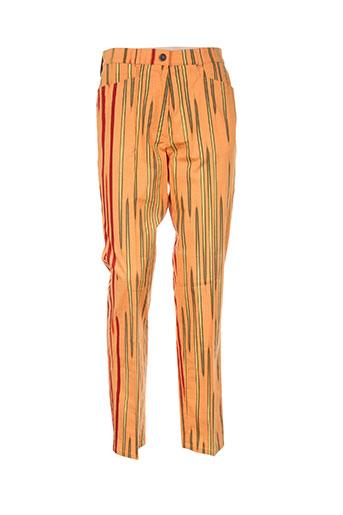 ara pantalons femme de couleur orange