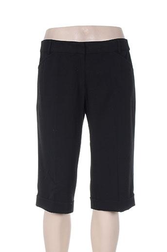 mr cat shorts / bermudas femme de couleur noir