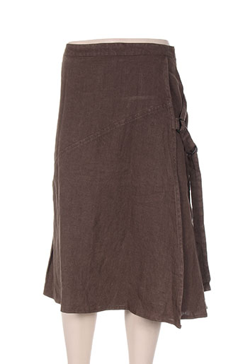 isabel de pedro jupes femme de couleur marron