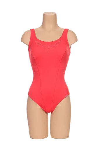 lidea maillots de bain femme de couleur rouge