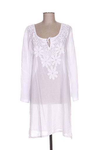 lingadore tuniques femme de couleur blanc