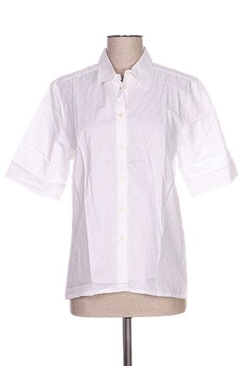 oliver grant chemises femme de couleur blanc