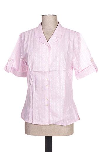 oliver grant chemises femme de couleur rose