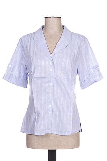 oliver grant chemises femme de couleur bleu