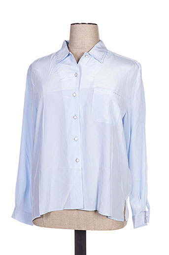 jean christophe.g chemises femme de couleur bleu