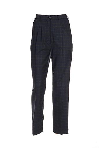nolwenn pantalons femme de couleur bleu