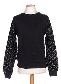 Sweat-shirt noir DANIEL'S MUSIC pour homme