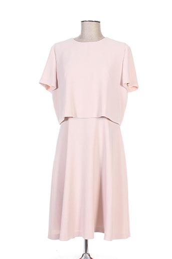 hugo boss robes femme de couleur rose