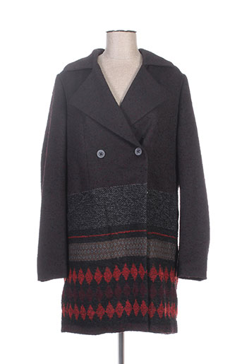 hugo boss manteaux femme de couleur gris